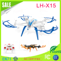 hot selling 2.4G 4CH long flight time drone with safety design