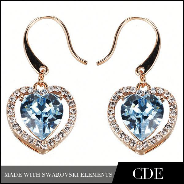 CDE Handmade Wholesale Danglers Diamond Earrings Jewelry Dangler