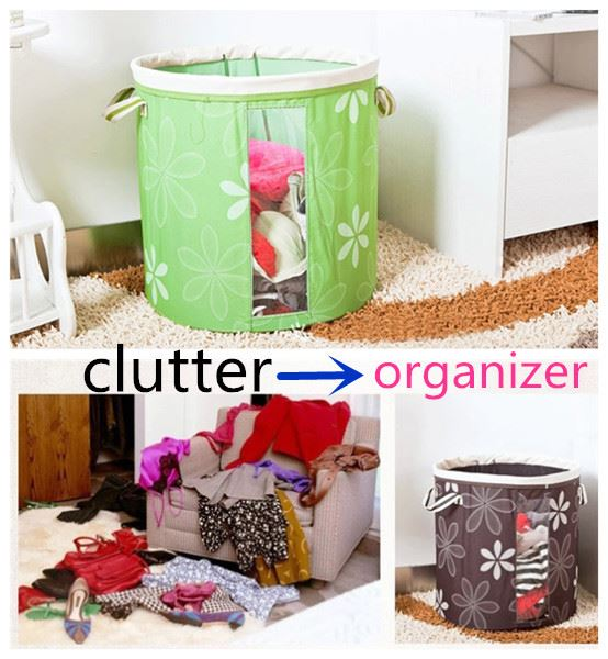 home storage organization canvas storage box