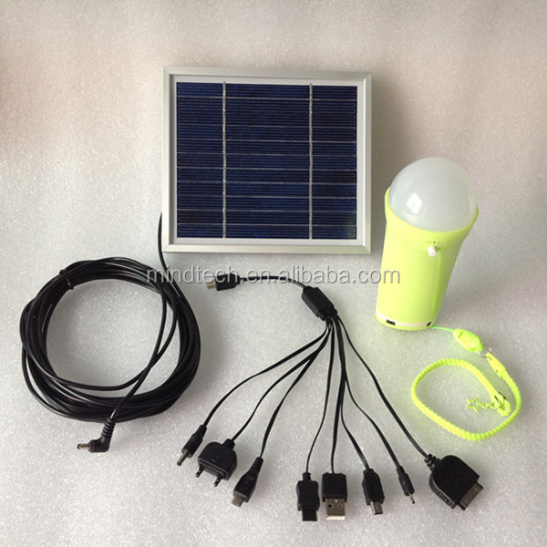 solar rechargeable led home emergency light solar torch light