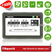 Shenzhen factory sale 4.3 inch Philippines map sat nav device with 128M DDR 4GB memory