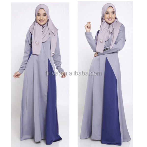 2016 new arrival fancy fashion sation high quality women islamic long dress wholesale muslim