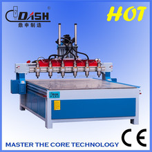 HOT Sale 6-head CNC engraving machine for woodworking