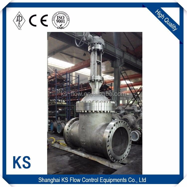 2016 Cast Iron Mental Seated Double flange os&y gate valve