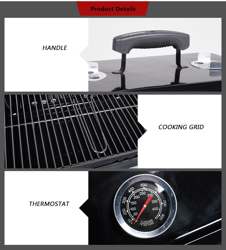 china factory easy to carry saving space table top bbq grill