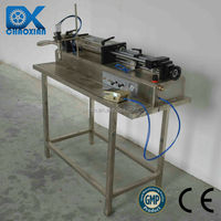 China ChaoXian Semi-automatic pneumatic horizontal Whitening cream filling machinery