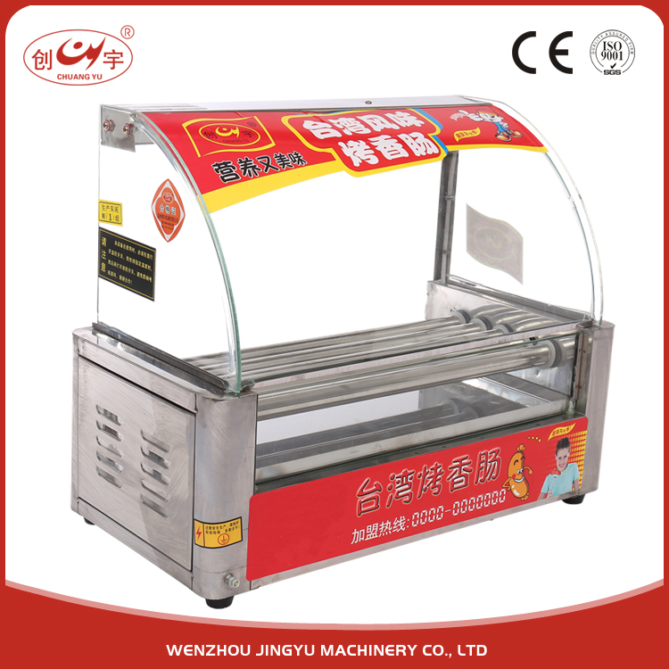 Chuangyu Hot 5 Roller Automatic Hot- Dog Steamer Machine Cy-5