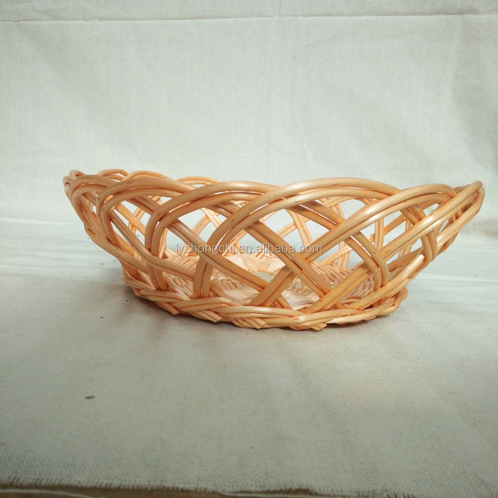 small round wicker fruit basket wholesale