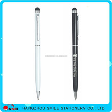 2016 promotional hot selling metal business steel custom logo pen