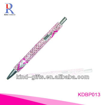 Hot Sale Bling Rhinestone Custom Pens With Crystal China Factory