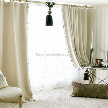 Blackout organza curtain fabric