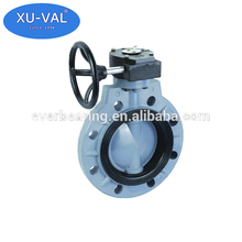 Plastic Butterfly Valves, PVC Wafer Butterfly Valves