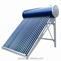 Stainless Steel Solar Water Heater Standing