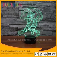 FS-3347 led color changing plug in night light pumpkin Hallowmas lamp