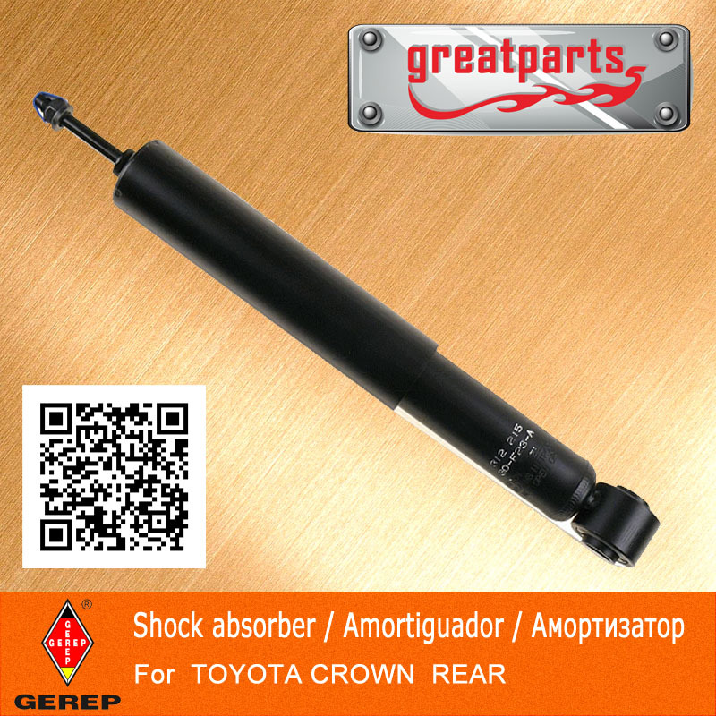 High quality rear shock absorber TOYOTA CROWN parts 4853139535 4853139545