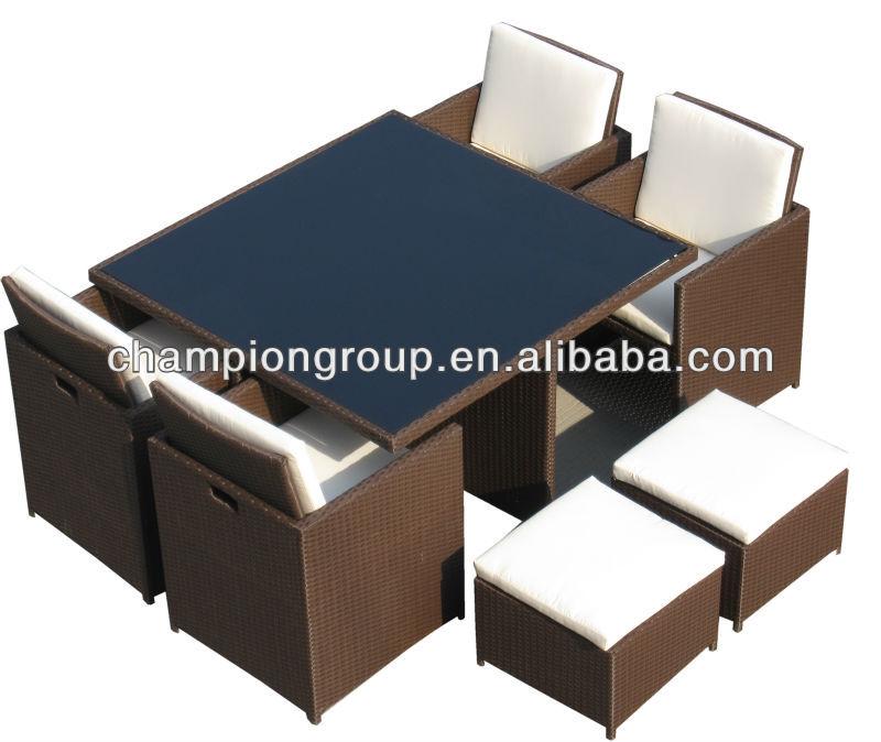 rattan w rfel sitzgruppe metallm bel set produkt id 713924777. Black Bedroom Furniture Sets. Home Design Ideas