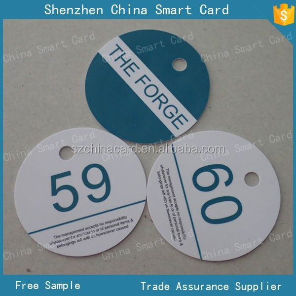 PVC material die cut size luggage tag with punched hole, offset printing luggage tag for customized