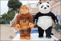 Inflatable Mascot Costume Panda and Gorilla