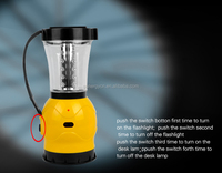 24 led solar lantern with mobile phone charger FM radio 3 in 1 solar camping lantern outdoor