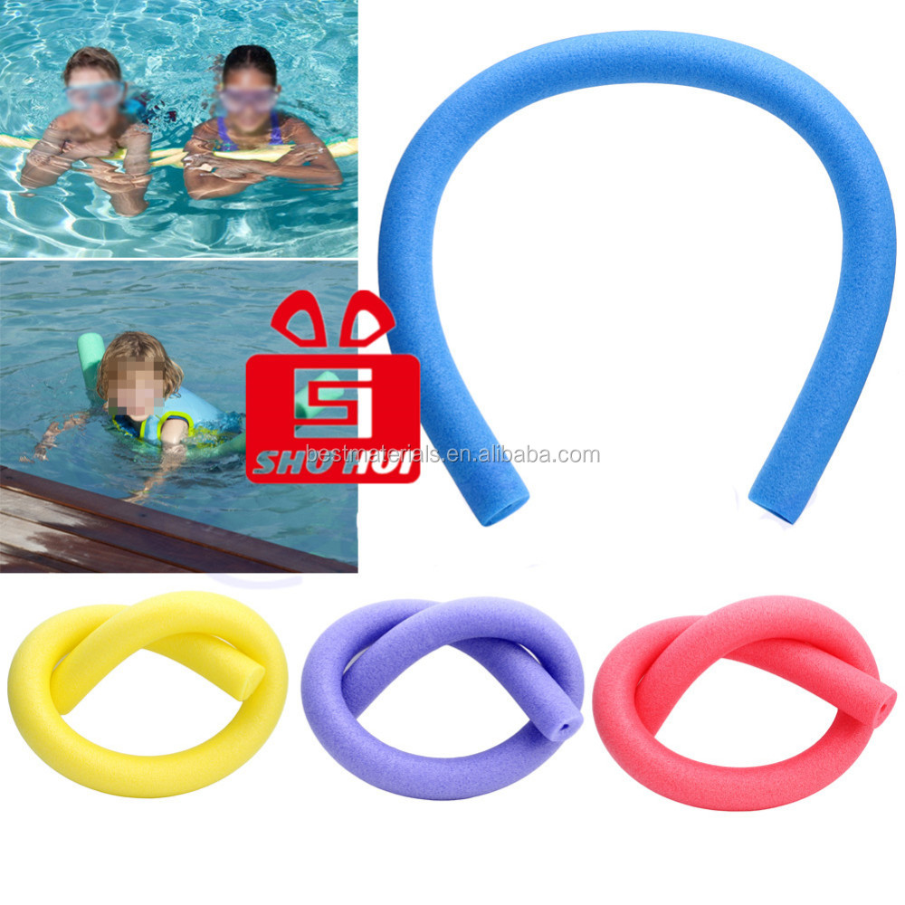 soft floating foam swimming pad/water noodle EVA cylinder pool noodles mat/foam floatable swimming noodle chair