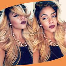 NEW ARRIVAL Indian human hair blonde WIG