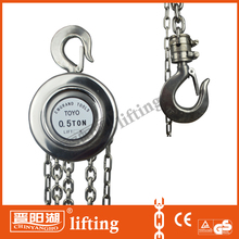 stainless steel manual chain block from china manufacturer