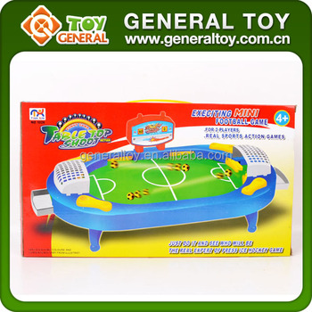 40*5.7*22.5cm Plastic Mini Football Table Game for Kids,Mini Table Soccer Game