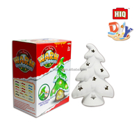 Love ceramic Christmas tree diy water color drawing toys for kids