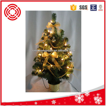 pre lit table top christmas trees with warm white led lights