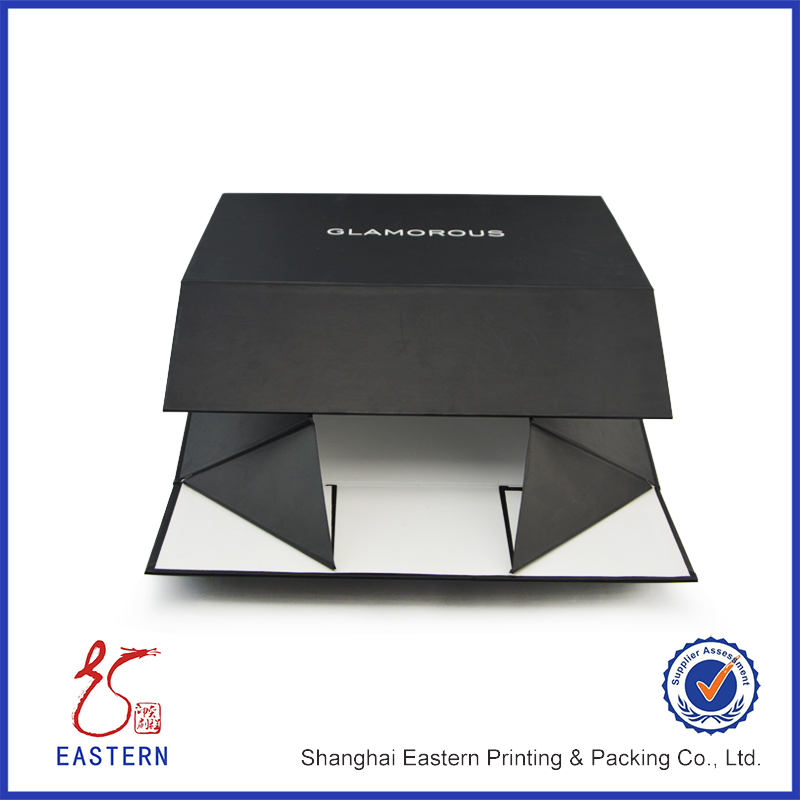 Custom Printed Folding Paper Packaging Box / Folding Paper Gift Box