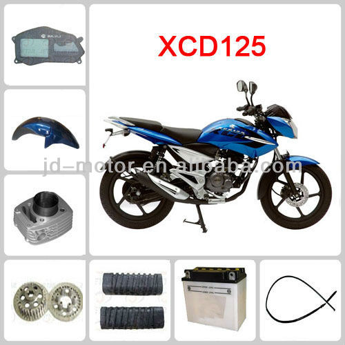 motorcycle accessories for Bajaj XCD 125
