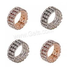 Rhinestone Zinc Alloy Finger Ring for woman new design on marjet
