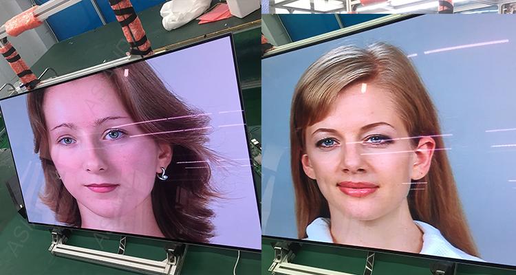 LG oled display 광고 digital 간판 tv player