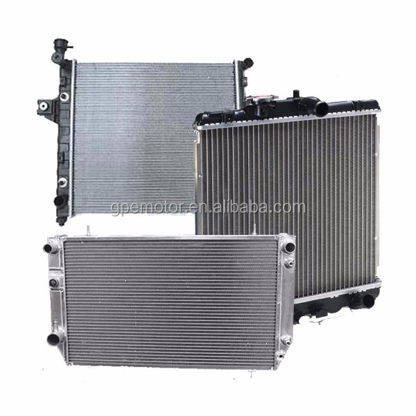 OEM ODM Auto Car Truck pa66-gf30 Aluminum Radiator For ATV Excavator Tractor Forklift Motorcycle Generator pa66 gf30 gf35 gf33