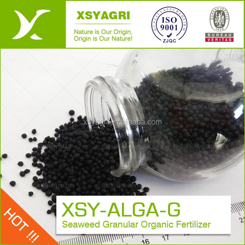 Seaweed Granule Organic fertilizer for Resistance To Drought And Soil Harden