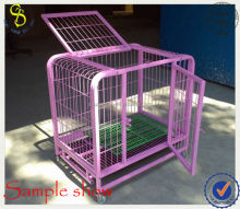 Indoor rabit cage, pink rabbit cage, animal cage(ISO guangzhou factory price)
