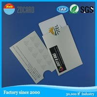 Latest design new style personal plastic card protector
