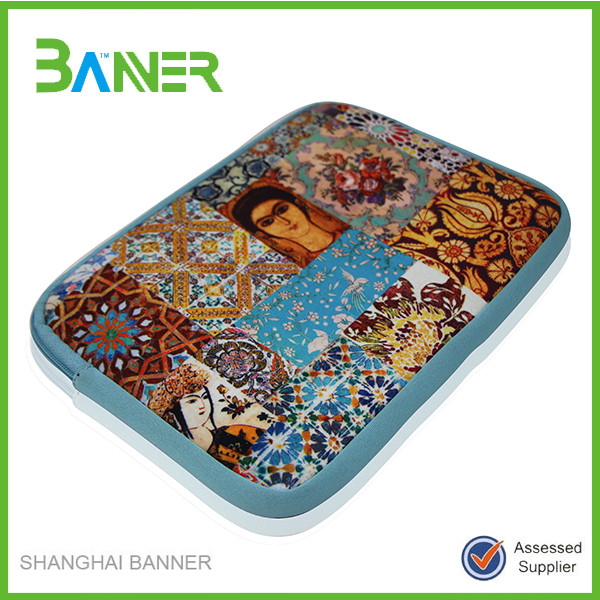 Promotional cheap customized printing neoprene crashproof tablet case