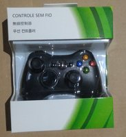 Wireless gamepad for Xbox 360 with color box packaging