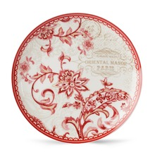8 inches cheap price porcelain flat plate