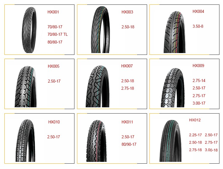 HX807 110/90-16 good quality best sale rubber motorcycle tire