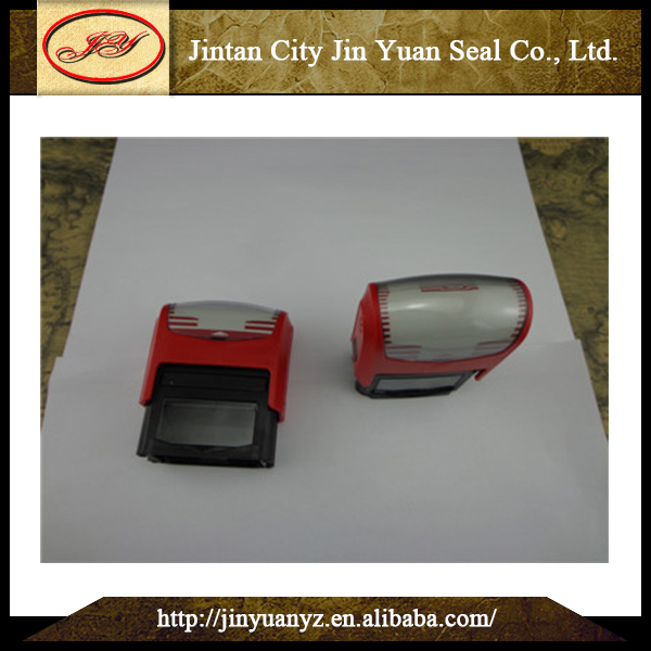 China Wholesale High Quality plastic self-inking clear rubber stamp