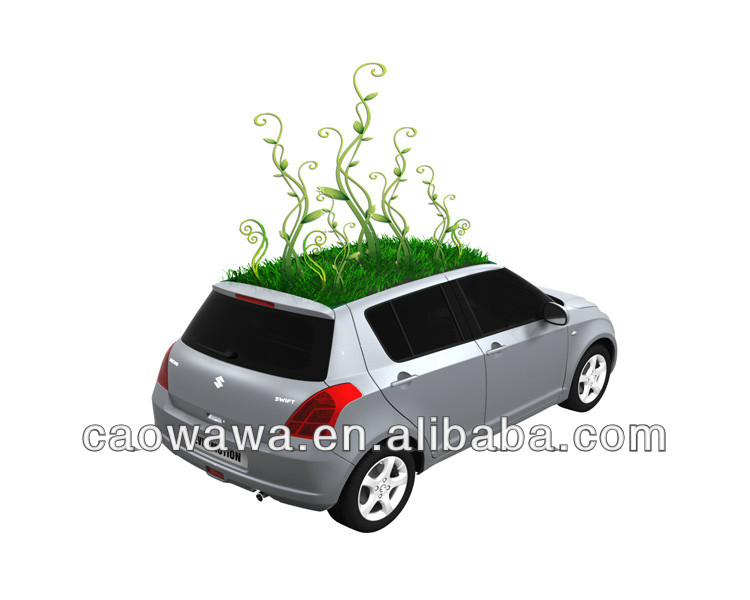 mini terracotta pots wholesale, car shape decoration pot