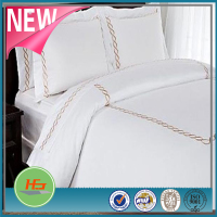 Wholesale 100% Cotton Embroidery Design Home Bedding Set
