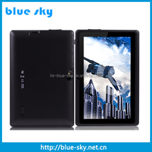 Ram 1G ROM 8 7inch quad core tablet pc A33 android 4.4 Dual Camera tablet pc