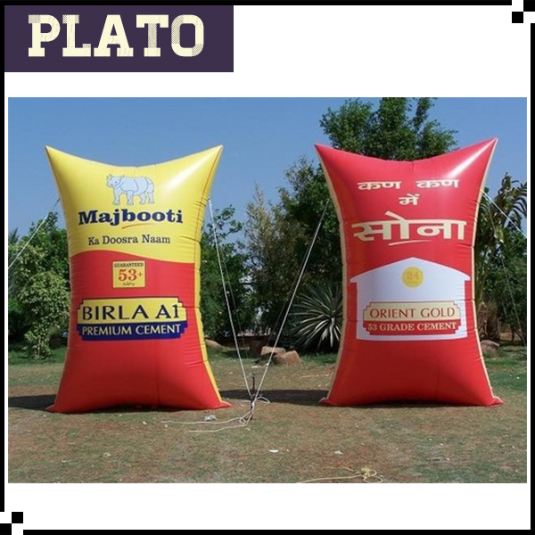 advertising inflatable food bag / decorative inflatable model