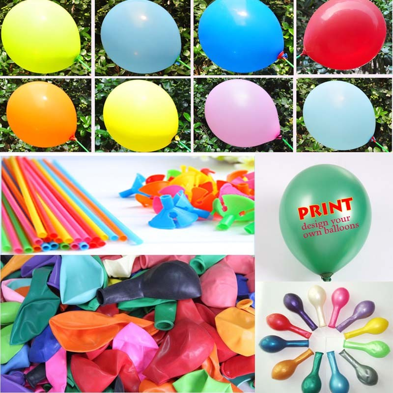 Wholesale Wedding decoration latex balloons halloween party supply glow balloons