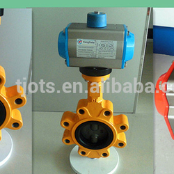 ANSI standard manual/electric/pneumatic lug type butterfly valve