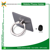Customized logo metal mobile phone ring stent for samsung