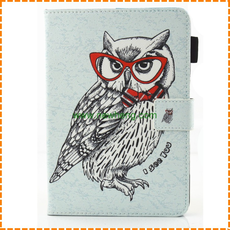 Newest sublimation Flip leather wallet case case for Ipad air 2